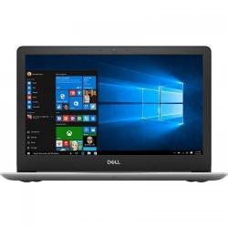 Laptop Dell Inspiron 13 5370 (seria 5000), Intel Core i5-8250U, 13.3inch, RAM 4GB, SSD 256GB, AMD Radeon 530 2GB, Windows 10, Silver