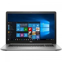 Laptop DELL Inspiron 5770, Intel Core i3-7020U, 17.3inch, RAM 4GB, HDD 1TB, Intel HD Graphics 620, Windows 10, Silver