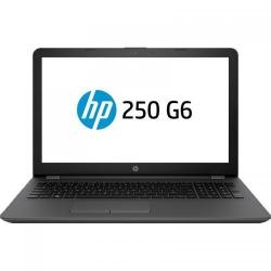 Laptop HP 250 G6, Intel Core i3-7020U, 15.6inch, RAM 4GB, HDD 500GB, AMD Radeon 520 2GB, FreeDos, Dark Ash Silver