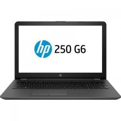 Laptop HP 250 G6, Intel Core i5-7200U, 15.6inch, RAM 4GB, HDD 1TB, Intel HD Graphics 620, Windows 10 Pro, Dark Ash Silver