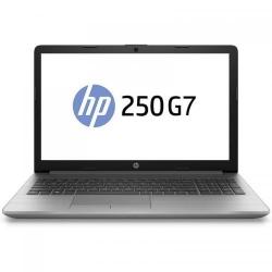 Laptop HP 250 G7, Intel Core i3-7020U, 15.6inch, RAM 8GB, SSD 256GB, nVidia GeForce MX110 2GB, Free DOS, Dark Ash Silver