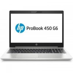 Laptop HP ProBook 450 G6, Intel Core i5-8265U, 15.6inch, RAM 8GB, HDD 1TB, Intel UHD Graphics 620, Windows 10 Pro, Silver