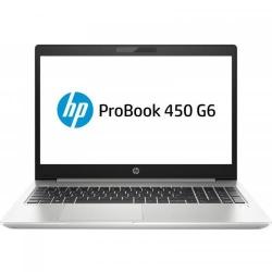Laptop HP ProBook 450 G6, Intel Core i7-8565U, 15.6inch, RAM 8GB, HDD 1TB, nVidia GeForce MX130 2GB, Free Dos, Silver
