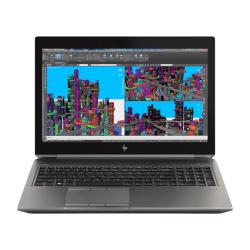 Laptop HP ZBook 15 G5, Intel Core I7-8750H, 15.6inch, RAM 16GB, SSD 256GB, nVidia Quadro P2000 4GB, Windows 10 Pro, Dark Ash