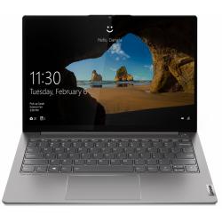 Laptop Lenovo ThinkBook 13s-ITL G2, Intel Core i5-1135G7, 13.3inch, RAM 8GB, SSD 256GB, Intel Iris Xe Graphics, No OS, Mineral Grey