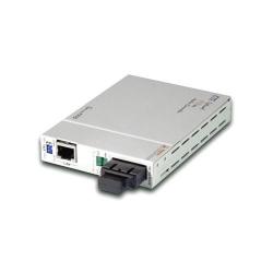 Media Convertor CTC Union FIB1-10/100S/ST15F FE la FO, SM, 15Km, SNMP