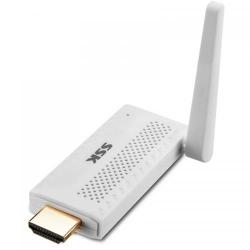 Media Player SSK SSP-Z100 Plus, WiFi Display, White