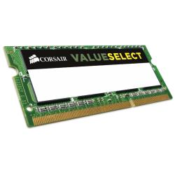 Memorie Corsair SODIMM DDR3L ValueSelect, modul 8GB (1x 8GB), 1600MHz, 11-11-11-28, 204PIN, 1.35V CMSO8GX3M1C1600C11