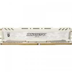 Memorie Crucial Ballistix Sport LT White 4GB, DDR4-2400MHz, CL16
