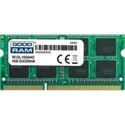 Memorie SO-DIMM Goodram W-DL16S04G 4GB, DDR3-1600MHz, CL11
