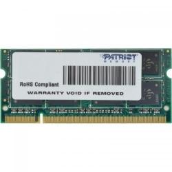 Memorie SO-DIMM Patriot Signature 2GB, DDR2-800MHz, CL6