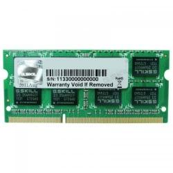 Memorie SODIMM G.Skill F3 4GB, DDR3-1600MHz, CL11