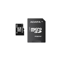 Memory Card A-Data Micro-SDHC, 32GB, cu adaptor SD
