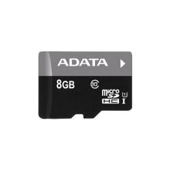 Memory Card A-Data Premier MicroSDHC 8GB, class 10 + SD Adapter