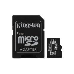 Memory Card Kingston Canvas Select Plus micro SDHC 16GB, Clasa 10 + Adaptor SD