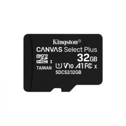 Memory Card Kingston Canvas Select Plus microSDHC 32GB, Clasa 10