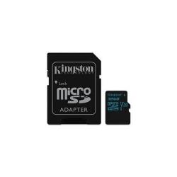 Memory card Kingston MicroSDHC Canvas Go 32GB, U3 UHS-I V30 Card + SD Adapter