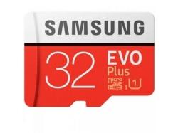 Memory Card Samsung EVO Plus microSDHC 32GB, Class 10 UHS-I + Adaptor SD