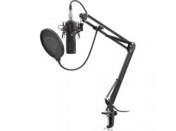 Microfon Natec Genesis Radium 300 XLR, Black
