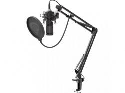 Microfon de studio Natec Genesis Radium 400, Black
