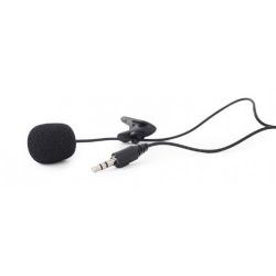 Microfon Gembird MIC-C-01 Clip-on, 3.5mm, Black