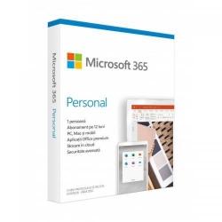 Microsoft 365 Personal Romana 32-bit/x64, 1 An, 1 Utilizator, Medialess Retai