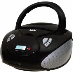 Mini sistem audio Akai APRC9236U, Bluetooth, Black