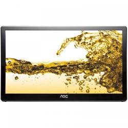 Monitor LED AOC 22V2Q, 15.6inch, 1366x768, 12ms, Black