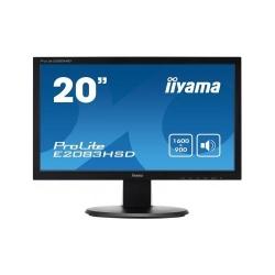 Monitor LED Iiyama E2083HSD-B1, 19.5inch, 1600x900, 5ms, Black
