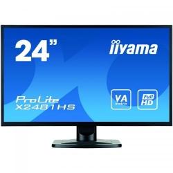 Monitor LED IIyama ProLite X2481HS-B1, 23.6inch, 1920x1080, 6ms, Black