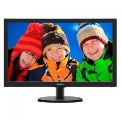 Monitor LED Philips 223V5LHSB, 21.5inch, 1920x1080, 5ms, Black