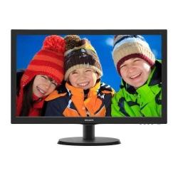 Monitor LED Philips 223V5LHSB2, 21.5inch, 1920x1080, 5 ms, Black