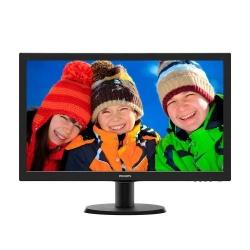 Monitor LED Philips 243V5LHSB, 23.6inch, 1920 x 1080, 1ms GTG, Black