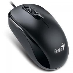 Mouse Optic Genius DX-110, PS2, Black