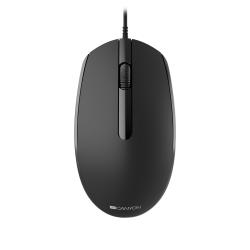 Mouse Optic Canyon CNE-CMS10B, USB, Black
