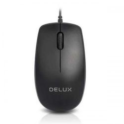 Mouse Optic Delux M138, USB, Black
