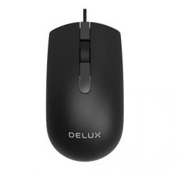Mouse Optic Delux M322, USB, Black