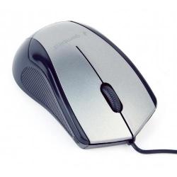 Mouse Optic Gembird MUS-3B-02-BG, USB, Black-Grey