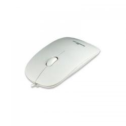 Mouse Optic Manhattan Silhouette White, USB