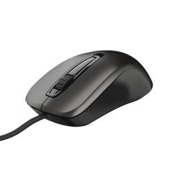 Mouse Optic Trust Carve, USB, Black