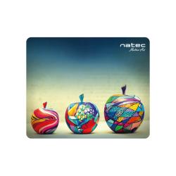 Mouse Pad Natec Art Apples, Multicolor