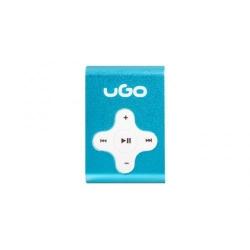 Mp3 Player uGo UMP-1021, Micro SD, Blue