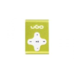 Mp3 Player uGo UMP-1023, Micro SD, Yellow