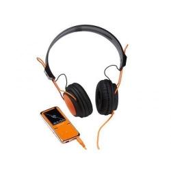 MP4 Player Intenso Video Scooter, 1.8inch, 8GB, Orange + Casti Intenso