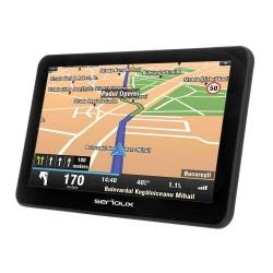 Navigator GPS Serioux Urban Pilot UPQ700FE, 7inch + Harta Europei