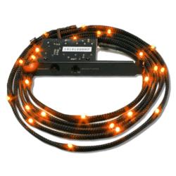 NZXT Sleeved LED Lighting Kit, 2m, Orange
