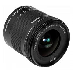 Obiectiv Foto Canon EF-S 10-18 mm/ F 4.5-5.6 IS STM