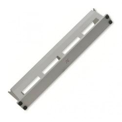 Organizator cabluri cu capac Nexans N102.127, 2U, White