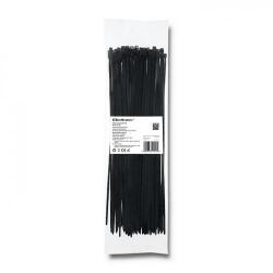 Organizator cabluri Qoltec 52200, 100buc, Black