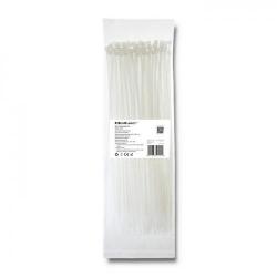 Organizator cabluri Qoltec 52201, 100buc, White